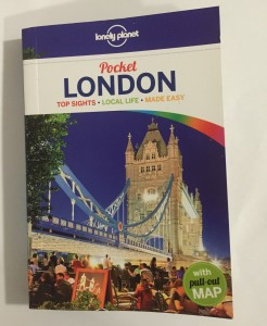 lonely planet pocket London Guide