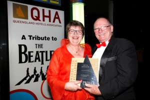 Wendy & Bruce at QHA Awards 2