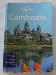 Picture of the Cambodia Lonely Planet Guide Book